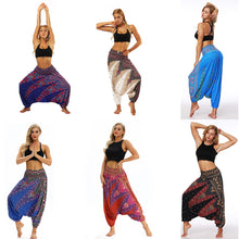 Load image into Gallery viewer, Women Digital Printing Loose Casual Fashion Dance Bloomers Yoga Pants
