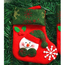 Load image into Gallery viewer, Christmas Decoration Socks Snowman Christmas   Elderly Bear Deer For Christmas Tree