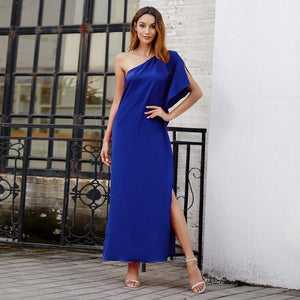 Original Design Bohemian Wind Solid Color Long Dress