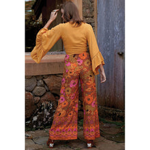 Load image into Gallery viewer, New Women's Loose Looking Thin High Waist Retro Printed Casual Pants