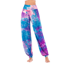 Load image into Gallery viewer, Women's New Casual Tie-dye High-waisted Trousers