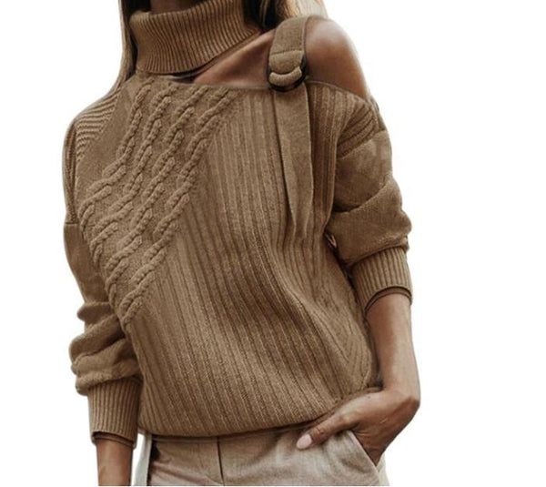 Autumn and Winter Solid Knitwear