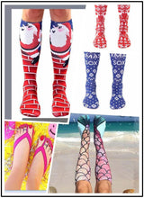 Load image into Gallery viewer, Printing stockings Mermaid socks