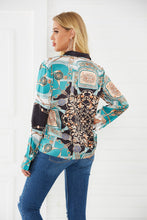 Load image into Gallery viewer, Spring & Summer New Shirt Temperament Revoke Long-sleeved Personality Print