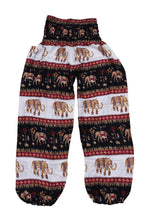Load image into Gallery viewer, Printed Ethnic Style Elastic Waist Large Size Wide-leg Bloomers