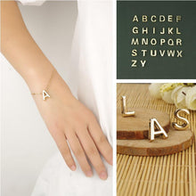 Load image into Gallery viewer, English letters 26 letters simple bracelet