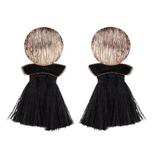 Load image into Gallery viewer, High quality vintage handmade tassel pendant long stud earring for women ear party jewelry