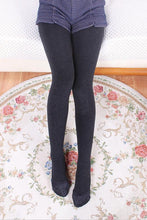 Load image into Gallery viewer, Winter plus warm one pants high elastic hot cotton tip lace thin Leggings female