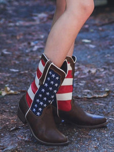 National Flag Boots Shoes