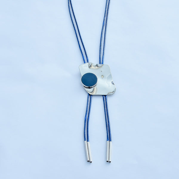 Irregular Exaggerated Stitching Necklace