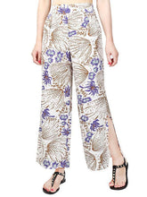Load image into Gallery viewer, Pretty Chiffon Floral Split-side Wide Leg Long Pant