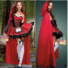 Load image into Gallery viewer, Red Halloween Cosplay Party Dress