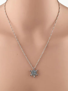 Christmas Snowflake Sliver-gilt Necklace Accessories