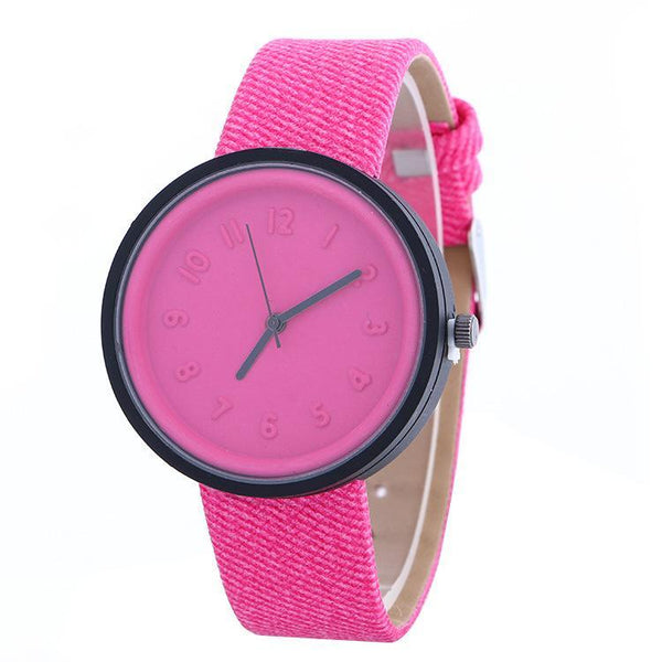 Korean Fashion Candy Color Bracelets Watch