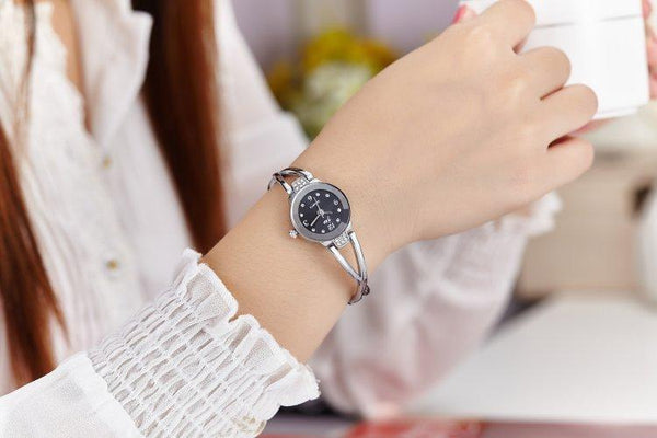 Fashion Girl Bracelet Waterproof Quartz Electronics Watch