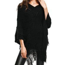 Load image into Gallery viewer, Knit Tassel Winter Fashion Sweater