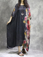 Load image into Gallery viewer, Floral Loose Casual Maxi Dress