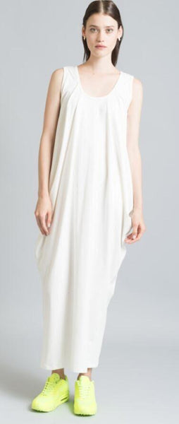 Solid Sleeveless Loose Maxi Long Dress