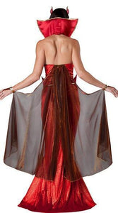 Red Sexy Halloween Party Maxi Dress