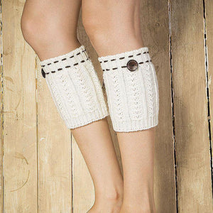 Boot cuff thick short-sleeved thick thick bamboo knit wool yarn socks - 6