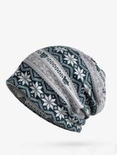 Load image into Gallery viewer, Women Bohemia Snowflake Hat Accessories