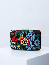 Load image into Gallery viewer, Embroidered evening bag ethnic style banquet bag