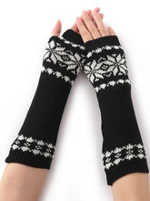 Load image into Gallery viewer, Bohemia Oversleeves Knitted Arm Warm Winter Fingerless Sleevelet Mittens