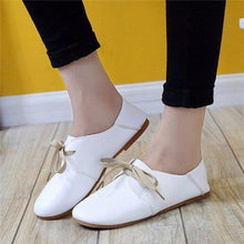 Load image into Gallery viewer, Pu Pure Color Casual Slip On Comfort Shoes For Women