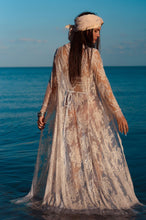 Load image into Gallery viewer, Pretty Long Lace Maxi Beach Dress Cover-up