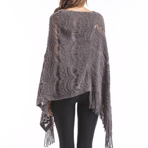 2018 Tassel Winter Knit Tops