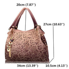 Load image into Gallery viewer, Women Vinage Hollow Out Pendant Shoulder Bags Elegant Retro Handbags