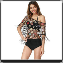 Load image into Gallery viewer, 2018 New Hollow Tassel Beach Bikini Cover Up