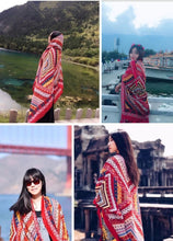 Load image into Gallery viewer, Bohemian Tassel Fashion Vintage Ethnic Cotton Linen Scarf