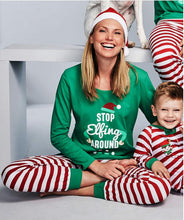 Load image into Gallery viewer, Family Christmas Pajams X-mas Family Union Suits