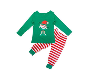 Family Christmas Pajams X-mas Family Union Suits