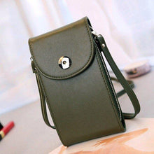 Load image into Gallery viewer, Vintage PU Leather Universal Shoulder Phone Bag For iPhone Samsung Huawei Xiaomi