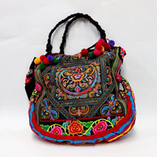 Load image into Gallery viewer, Vintage Ethnic Style Floral Embroidery Shoulder Bag