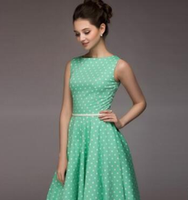 Load image into Gallery viewer, Polka Dot Sleeveless Summer Casual Midi Dress