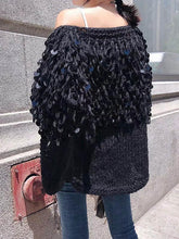 Load image into Gallery viewer, Autumn Winter Tassel Long Sleeve Knit Cardigan Tops