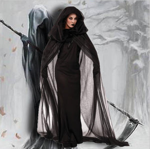 Halloween Black Witch Cosplay Dress