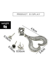 Load image into Gallery viewer, 4PCS Multi Shape Alloy Earring Accessories