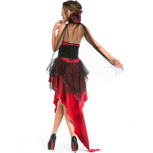 Sexy Halloween Cosplay Party Maxi Dress
