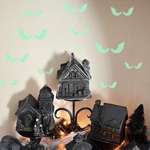 Load image into Gallery viewer, Halloween 18Pcs/set Glowing In The Dark Eyes Wall Glass Sticker