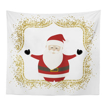 Load image into Gallery viewer, New Christmas Series Santa Pattern Tapestry