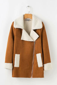 Autumn Winter Long Sleeve Fashion Outwear Coat