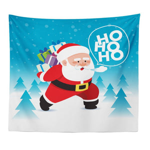 New Christmas Series Santa Pattern Tapestry