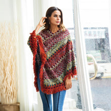 Load image into Gallery viewer, Knit Autumn Tassel Fashion Sweater Tops