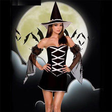 Load image into Gallery viewer, Halloween Cosplay Off Shoulder Mini Dress