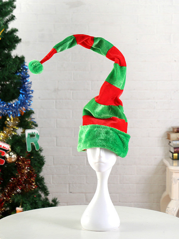 Christmas Party Dance Dress Clown Hat Halloween
