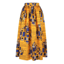 Load image into Gallery viewer, Print High Waist Beach Boho Maxi Skirt